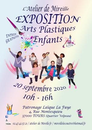 affiches enfants velpeau expo 20 sept. 2020